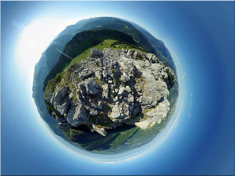 Le mont Ouzon panoramique + ajout visite virtuelle Eouzon